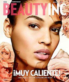 Joan Smalls for Beauty Inc. #models #makeup #beauty