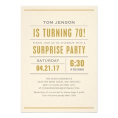 Nice Surprise 70th Birthday Party Invitations  Download this invitation for FREE at https://www.drevio.com/surprise-70th-birthday-party-invitations/