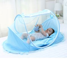 30.00$  Watch now - http://aiq76.worlditems.win/all/product.php?id=32688841690 - 0-3 Years Ger Type Bed Crib Mosquito Netting,Free Installation ,Bottomed Collapsible Portable Baby Mosquito Nets,Send the Mat