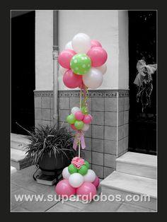 COLUMNA DE GLOBOS (BALLOON COLUMN) Balloon column.  #balloon-column #balloon-decor