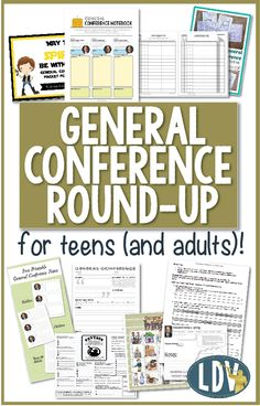 General Conference ideas for teenagers (and adults)! Great ideas to keep your teenager engaged and excited about Conference.