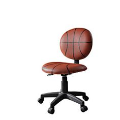 @Overstock - This kids' chair is the perfect addition to your home office, child's study area or dorm room. This furniture features a fun finish for a sports fan.  http://www.overstock.com/Home-Garden/Maya-Basketball-Office-Chair/6773869/product.html?CID=214117 $68.99