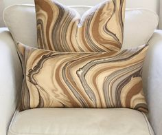 Kelly Wearstler Barcelo Lumbar Pillow Cover in by PinkandPiper, $70.00