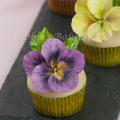 How to Create Sugar Paste Pansy
