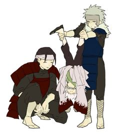 First, Second, and Third Hokage
