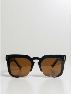 GREY ANT temple sunglasses black