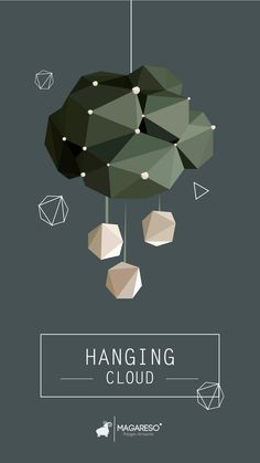 """ Hanging Cloud "" #polygon"