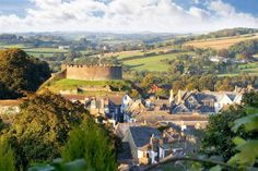 Totnes castle was one of the first three stone castles built in Devon in a clear attempt to tighten William's hold over a potentially rebellious shire. Description from luscombemaye.co.uk. I searched for this on bing.com/images