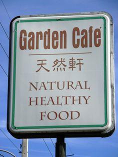 Garden Cafe.