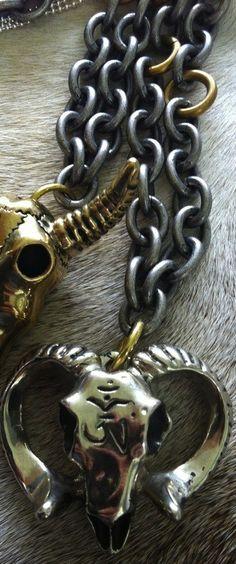 White Moth Jewelry- Ram Horn Down Chain Necklace. This Ram Horn Down Necklace Features a Silver 18 inch Chain. Aries, Ram Horns, Costume Jewelry, Moth, Evolution, Dragons, Anxiety, Jewellery, Chain