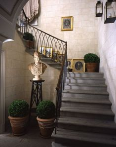 Staircase Railing at