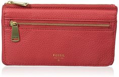 Fossil Preston Flap Wallet, Tomato *** Continue to the product at the image link.