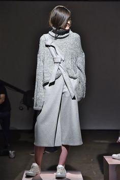 Fashion Snoops x Pantone Fashion Colour Report, F/W 16. Claudia Li. #NYFW