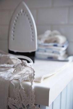 Ironing The Laundry
