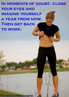 imagine yourself a year from now