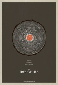 Minimal Movie Posters For Best Picture - The Tree of Life