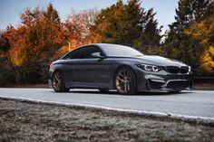 This Mineral Gray BMW comes with a set of HRE custom forged wheels. These are some of the lightest forged wheels available. M2 Bmw, Bmw X7, M3 Sedan, California Location, Bmw Concept, Bmw Wallpapers, Most Expensive Car, Latest Cars, Car In The World