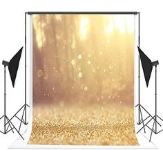 Happy Birthday Photography Backdrops Yellow Bling Bling Bright Dots Backdrop for Children Photo Background Forest Photography, Background For Photography, Photography Backdrops, Photography Backgrounds, Photography Tips, Yellow Glitter, Golden Glitter, Christmas Backdrops, Christmas Photos