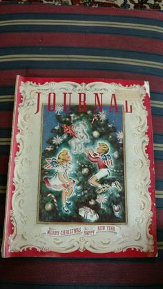 WWII Era Ladies Home Journal January 1941 Patriotic Christmas Cover w/Angels