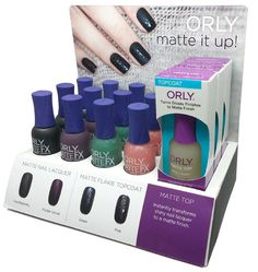 Orly Matte It Up Collection Matte FX 2013