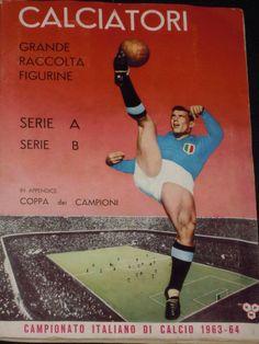 immagine copertina album calciatori Panini 1963-64
