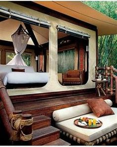 Four Seasons Tented Camp Golden Triangle - glamping in Thailand