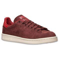Men's adidas Originals Stan Smith Casual Shoes  Finish Line   Fox Brown/Collegiate Orange