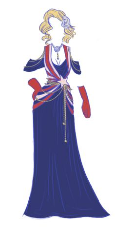 Marvel Avengers & Villains Evening Gown Designs http://geekxgirls.com/article.php?ID=1398