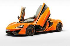 McLaren 570s: doors open