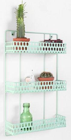 triple decker metal hanging wall shelf  http://rstyle.me/n/fpgghpdpe