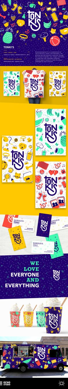 Tonki's Brand Identity on Behance