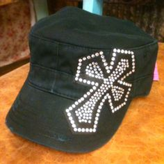 Black cadet hat from Cowgirl Clad Co. $18.00 www.cowgirlclad.com, Have this hat and I love it!!!!