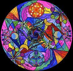 Awakened Poet - Frequency Paintings - Teal Swan