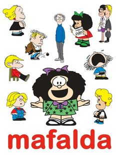 Mafalda X( Best Cartoons Ever, Cool Cartoons, Mafalda Quotes, Jim Davis, Cartoon Wall, Comic Covers, Betty Boop, Comic Character, Just For Laughs