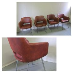 Nice leather chairs