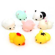 Resultado de imagen para Mochi Bunny Rabbit Squishy Squeeze Cute Healing Toy Kawaii Collection Stress Reliever Gift Decor