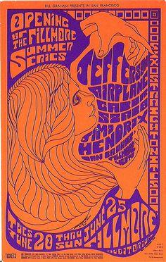fillmore concert poster