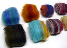 Natural Dyeing Roving--mordants and fixatives (poisonous and not respectively, sadly both are needed)