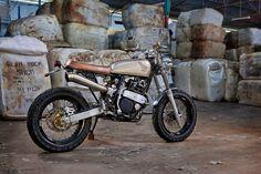 Lsr Bikes: Honda XR 600 Street Tracker by 66 Motorcycles