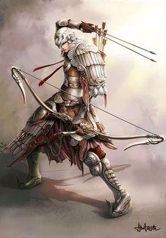 quem disse que samurai não pode ser arqueiro?: