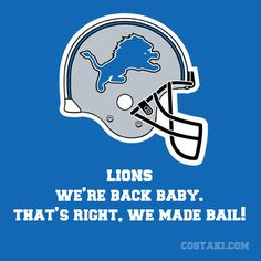 New Team Slogan: DETROIT LIONS