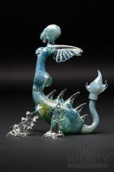 joe peters glass | Joe Peters x Kind DRAGON Vapor Rig with Opal Detail Includes Dragon ...