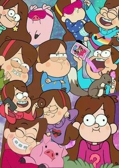 It's Mabel she's cute! Dipper And Mabel, Mabel Pines, Fall Wallpaper, Iphone Wallpaper, Gravity Falls Dipper, Desenhos Gravity Falls, Fall Cleaning, Force Of Evil, Painting For Kids