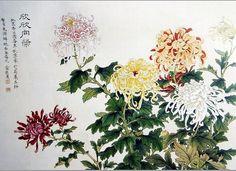 Yu Zhizhen  俞致贞 (1915-1995)    —     Chrysanthemum 三秋佳色, 1991 (888x647)
