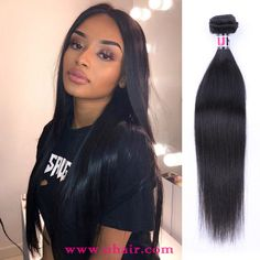 Malaysia Straight Hair Weave 4 Bundles With Malaysia Virgin Hair Straight Lace Closure Uhair Products Unprocessed Human Hair Remy Human Hair, Human Hair Extensions, Straight Weave Hairstyles, Look Younger, Lace Closure, Lace Frontal, Virgin Hair, Wigs, Women