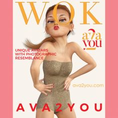 WOK is a fake #fashion magazine. Inspired by Vogue Japan February 2018