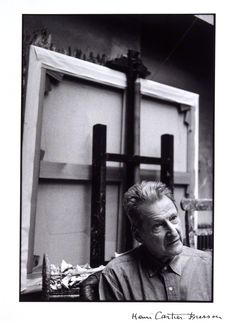 Lucian Freud, photographed by Henri Cartier-Bresson, 1997 - NPG  - © Henri Cartier-Bresson / Magnum Photos.