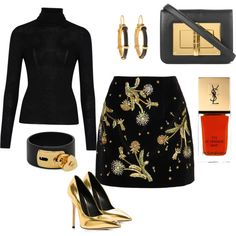 Untitled #224 by cathatin on Polyvore featuring polyvore, fashion, style, Lanvin, Topshop Unique, Giuseppe Zanotti, Tom Ford, Valentino and Yves Saint Laurent
