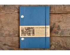 Blue notebook -Carnet bleu - Made in France