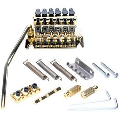 Floyd Rose Special Series Tremolo Bridge System With Nut Gold for sale online Floyd Rose, Guitar Accessories, Gold For Sale, Thing 1, Gold Material, Bridge, The Originals, Ebay, Musical Instruments